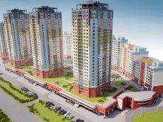 Многофункциональный жилой комплекс по ул. Богдановича в районе ул. Некрасова.